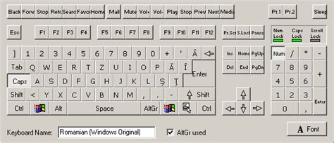 keyboard layout xp romanian keyboard layout microsoft windows