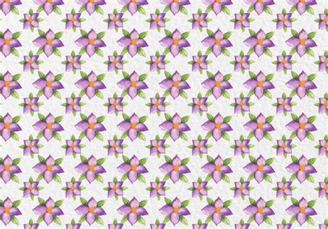watercolor pattern with purple flowers vector free download free vector watercolor purple flowers pattern download