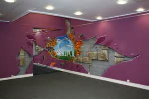 shell 3d illusion wall art media gang