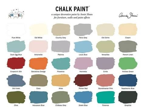 chalk paint colors furniture facelift