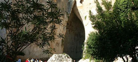 siracusa orecchio di dionisio sicilia italia zona