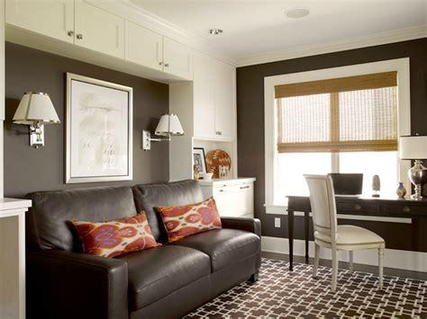 Chocolate Brown Sofa Design Ideas