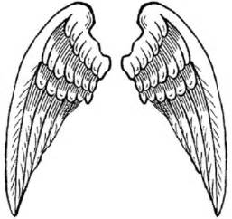 Angel Wings Coloring Pages To Print Clipart Best Coloring Pages Of Wings
