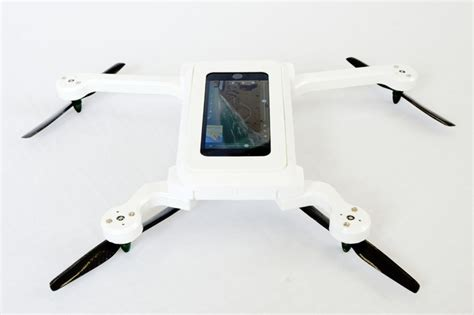 drone iphone kickstart this flying smartphone