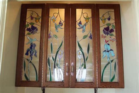 Custom Glass Cabinet Doors Custom Cabinet Door Glass By Sgo Designer Glass Of Los Angeles Custommade