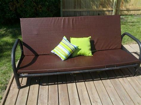 1000 ideas about outdoor futon on futon frame