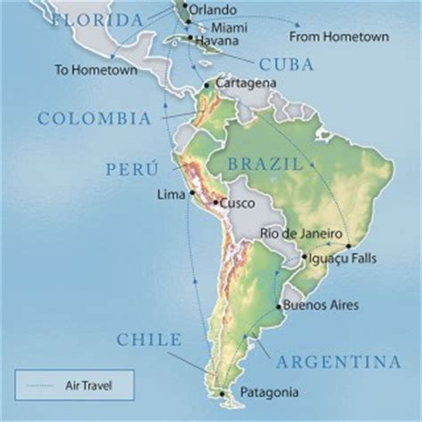 south america map cuba travcoa offers all inclusive tours of cuba even one by