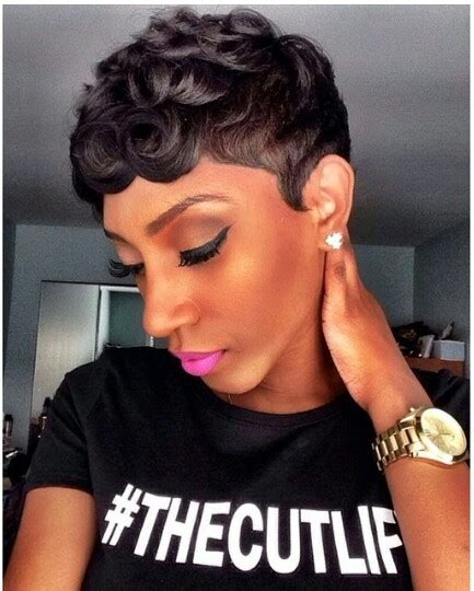 black women short hairstyles with soft waves thecutlife hairstyle for black women