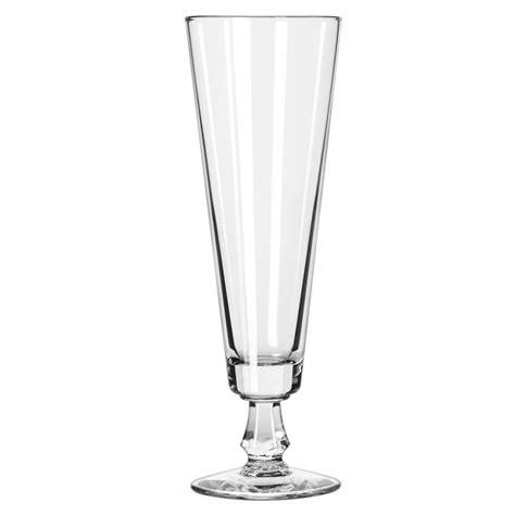 pilsner glass libbey 6425 10 oz footed pilsner glass safedge guarantee
