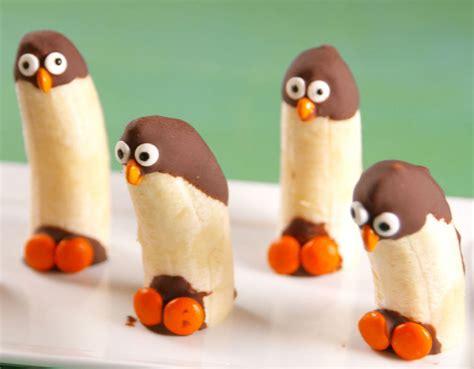 cocina pinguinos ping 252 inos de pl 225 tanos con chocolate tus mejores platos