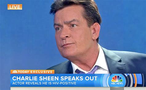 in his own words sheen admits quot i am hiv