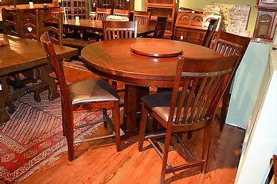rustic solid wood distressed large dining room table rustic distressed reclaimed solid wood round dining table