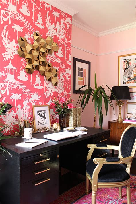 pink and black home decor 6 tips to create an organised home office by kimberly