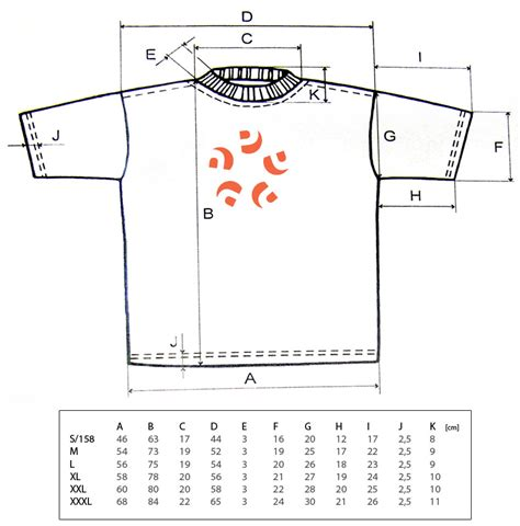 Size T Shirt different t shirt sizes dimensions info