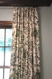 Gray And Brown Curtains Before And After Design Indulgence
