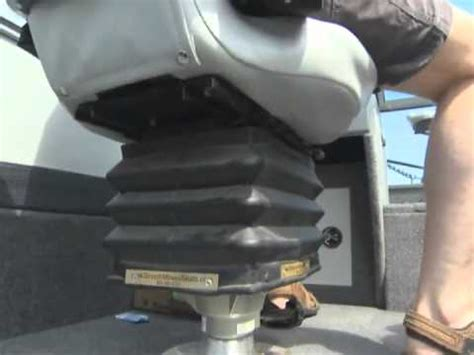 fix stuck boat seat pedestal smooth moves new ultra designed for easy install and