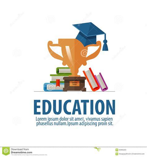 design logo education education vector logo design template school or stock