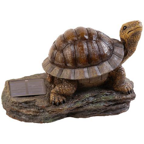 Pine Top Decorative Solar Turtle Accent Light Amber Led Solar Turtle Light