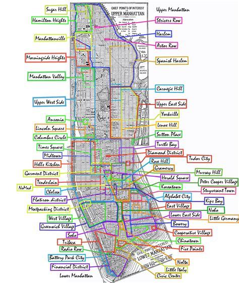 manhattan zip code map zip codes manhattan new york map
