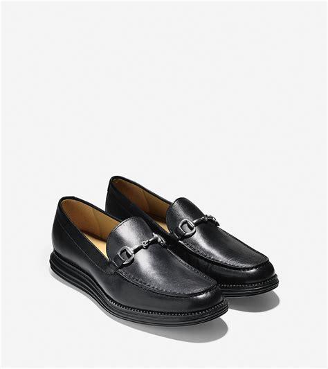 lunargrand loafer cole haan lunargrand venetian bit loafer in black for