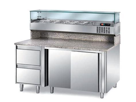 tavolo mensola tavoli pizzeria refrigerati con mensola portabacinelle