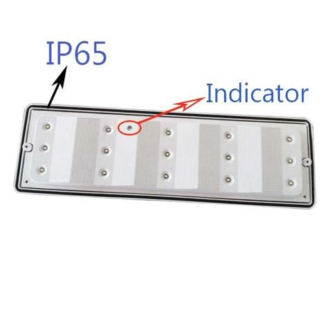 Maintained Ceiling Mounted 2835 Smd Led Emergency Lights Ceiling Mounted Emergency Lights