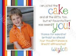 thank you card wording let s party pinterest