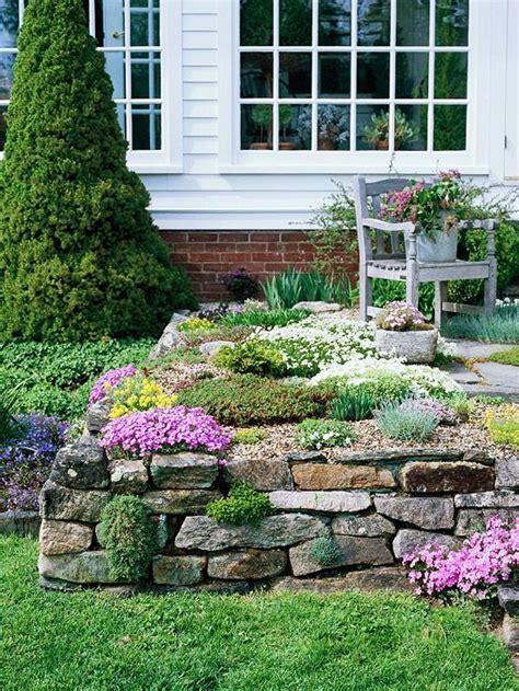 Rock Garden Design Ideas Nursery Supplies Backyards And Rock Garden Walls