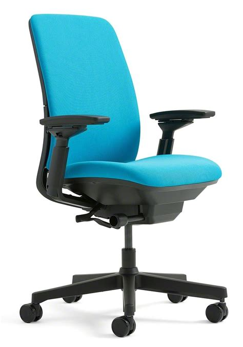 Steelcase Upholstery by Steelcase Amia Fabric Chair Black Kitchen