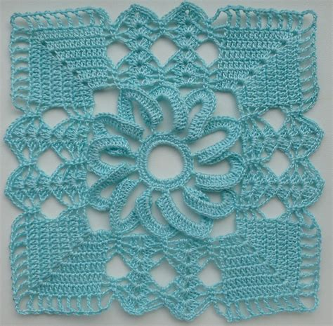 Square Wolfis Motif 1 lacy square motif 1 pattern by crochet atelier