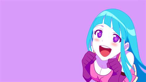 Me Me Me Full - teddyloid blue eyes cleavage anime me me me