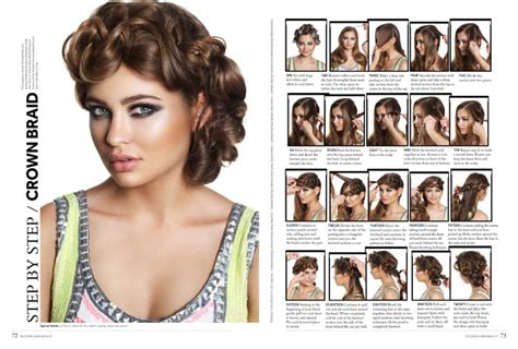 step by step hair style modern hair beauty magazine on sale modern wedding