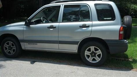 manual cars for sale 2002 chevrolet tracker transmission control sell used 2002 chevrolet tracker lt sport utility 4 door 2 0l in seabrook texas united states