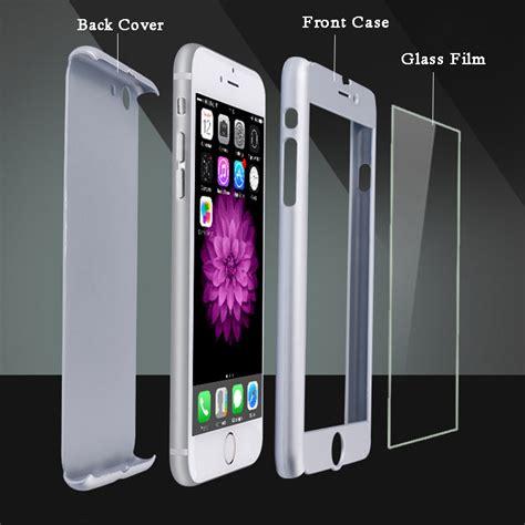 360 Degrees Casing Depan Belakang Iphone 5 5s Se 6 6s 6 6s 7 7 6 6s 7 plus 360 coque phone cases for iphone 5 5s se 6 6s 7 plus pc