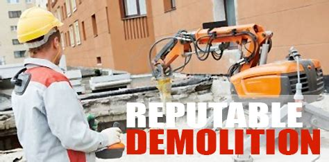 Reputable Background Check Services Reputable Demolition Company Demolition Contractor Demolition Services Demolition