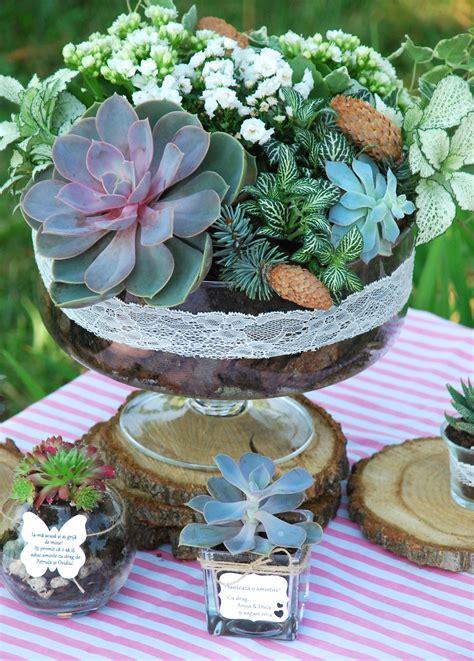 living plants centerpiece and table arrangements for a