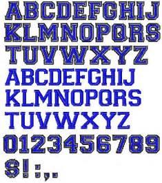 varsity regular embroidery font annthegran