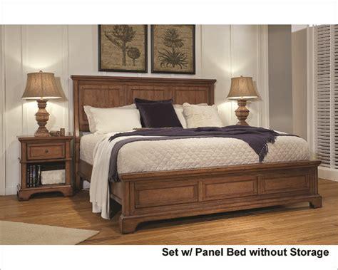 aspenhome bedroom furniture aspenhome bedroom w panel bed alder creek asi09 400set