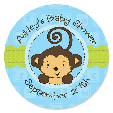 Monkey Stickers Baby Shower by Baby Monkey Stickers Images