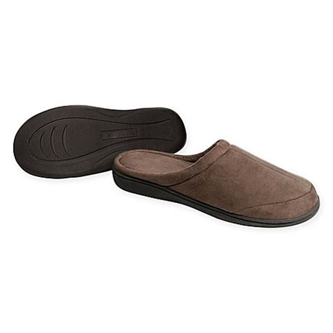 bed bath and beyond slippers refinery memory foam traditional slipper bed bath beyond
