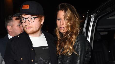 ed sheeran wife ed sheeran gets engaged to girlfriend announces it on