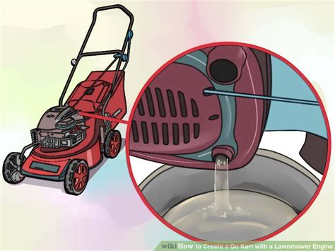 how to make a go kart motor 6 ways to create a go kart with a lawnmower engine wikihow
