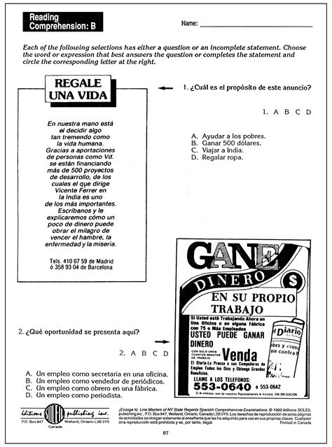 Reproducible Student Worksheet by Student Worksheet Category Page 5 Worksheeto