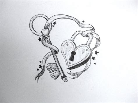 locked heart tattoo designs index of images 30