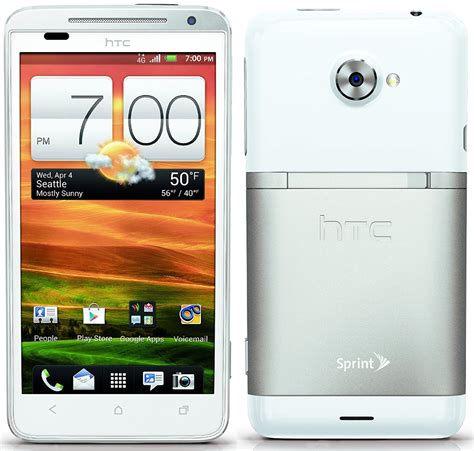 htc evo 4g lte android htc evo 4g lte 16gb android smartphone for sprint white