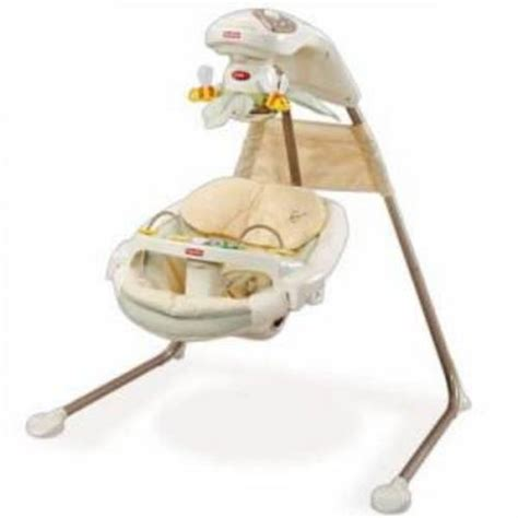 fisher price nature touch cradle swing nature s touch fisher price swing bumble bee version