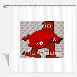 razorback bathroom razorback shower curtains razorback fabric shower