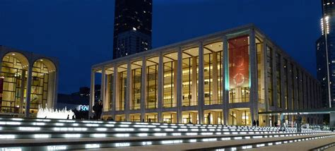 lincoln center new york david geffen lincoln center building e architect