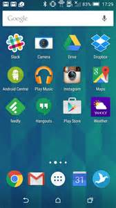 android home screen apps a look at the android central editors homescreens