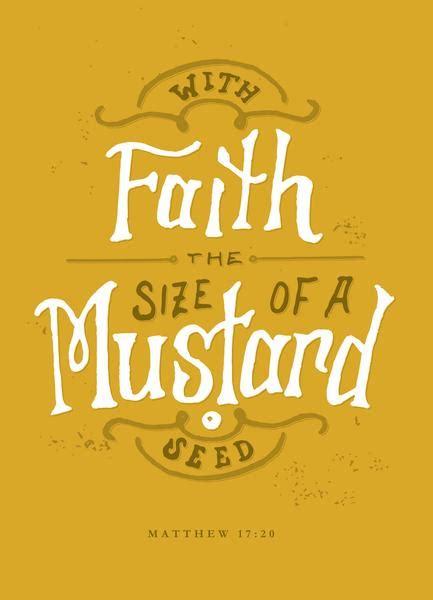 faith mustard seed favor bentley seeds